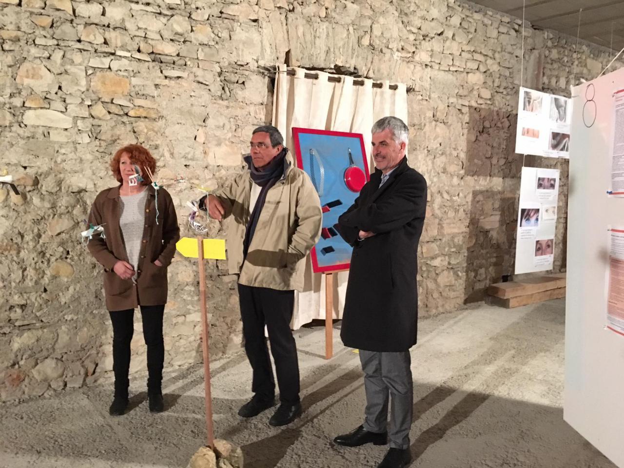 M.le Députe du Gard Fabrice Verdier, M.Bonventre, Catherine