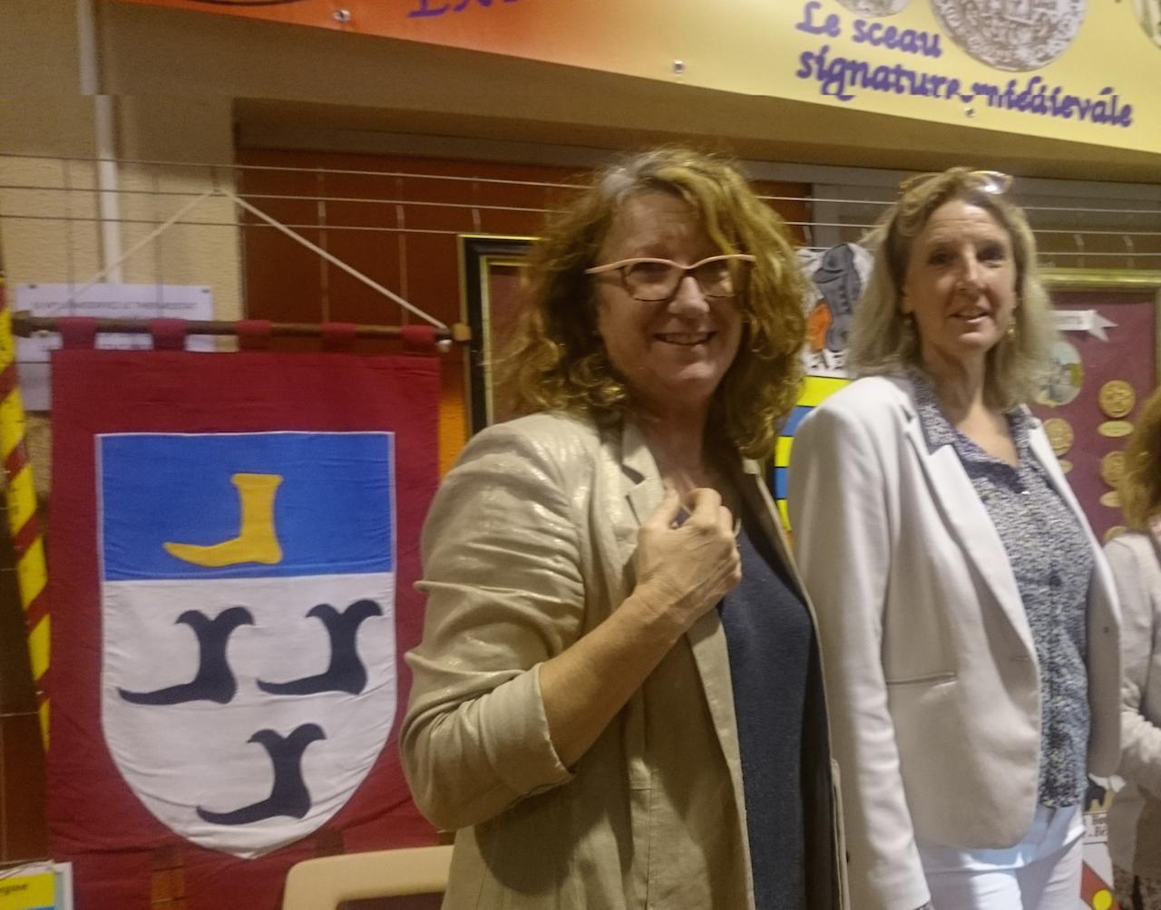 Forum FAGH  avec Me la Députée Annie Chapelier -Moussac-