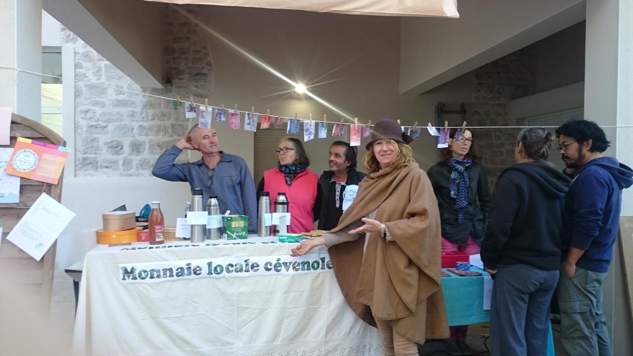 """171028 Fete des Possibles - La monnaie Locale """"Pelos"""""""
